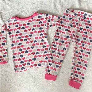 Toddler girls 2 piece pajama set